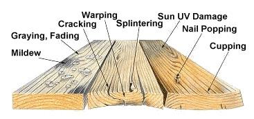Wooddamage